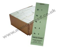 RANDOM SPINNER RAFFLE TICKETS - 1 BOX